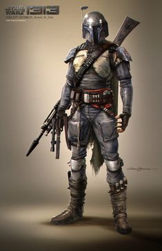 Boba Fett Concept for Star Wars 1313 I really wish this game had made it through the buyout....