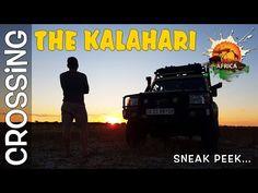 Crossing the Kalahari - Series Trailer My Life, Africa, Adventure, Youtube, Movies, Movie Posters, Films, Film Poster, Cinema