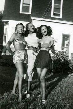 Vintage Black Glamour.