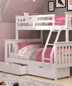 storkcraft caribou bunk bed pink kids room inspiration