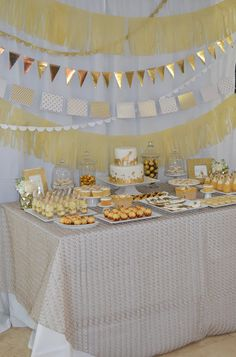 This darling baby shower was a surprise party for my friend's sister-in-law. When deciding on a theme she only said she loved white and I im...