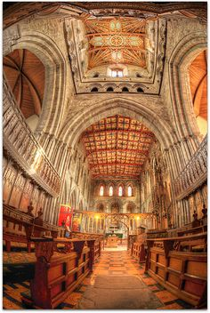 St David's Cathedral, St David's, Pembrokeshire, West Wales was built in 1181 and is Britain's smallest cathedral. There has been a place of worship on the site since St Davids Cathedral, Cathedral Church, Wales Uk, South Wales, Wales West, Beautiful Buildings, Beautiful Places, Cities In Wales, Thinking Day
