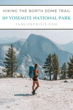 Tips for hiking the North Dome Trail in Yosemite National Park, California Yosemite National Park, National Parks, California Travel, Yosemite California, Yosemite Valley, United States Travel, Day Hike, Hiking Trails, Us Travel