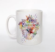 Harry Potter Ravenclaw crest Mug  Ravenclaw crest by ArtsPrint