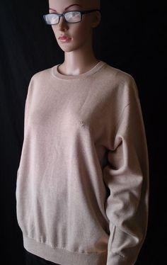 Burberry  Beige  Sweater, Women's ,unisex size 4XL #Burberry #Sweater