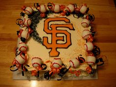 sf giants cakes