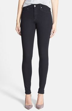 AG 'Contour 360 - Farrah' High Rise Skinny Jeans (Hideout) available at #Nordstrom