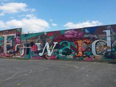 Graffiti - Digbeth Birmingham Sept 2014 - 'Forward'