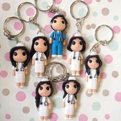 Nurse keyholder by Bitstopieces on Etsy