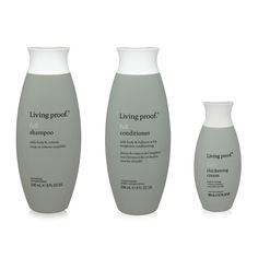 Living Proof - Full Shampoo 8 Oz – Full Conditioner 8 Oz – Full Thickening Crème 3.7 Oz – THREE ITEM Combo Pack - Volumizing Hair Products >>> Check out the image by visiting the link. #hairrepair