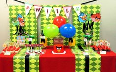 Angry Birds Birthday Party Ideas   Photo 10 of 10