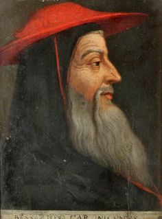 Cardinal Bessarion Link originally suggested by Deborah on Claes Renaissance, Holy Roman Empire, Best Authors, High Priest, Medieval Clothing, Art Uk, Red Hats, Your Paintings, 16th Century