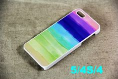 Abstract Rainbow Pattern iPhone 5 Scrub Case and Rubber Case