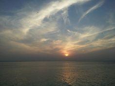 Sunset at Louie's Backyard South Padre Island, TX