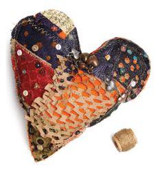 heart stuffie by belinda spiwak