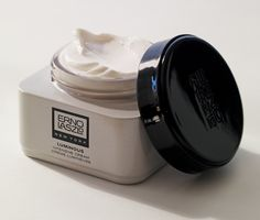 Erno Laszlo's new packaging as featured in Bergdorf Goodman's magazine.