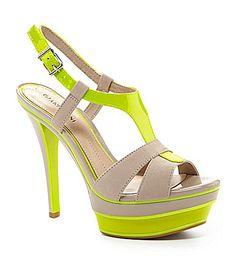 Gianni Bini Skye Platform Sandals #Dillards