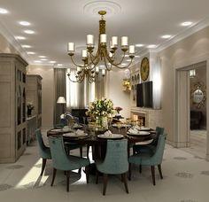 "Darya Girina Interior Design: Interiors at private house of house complex ""Solnechnaya Gorka""/ Дизайн интерьеров загородного дома, пос. ""Солнечная Горка"""