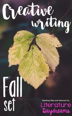 Fall Autumn Creative writing tasks, worksheets and activities to inspire, challenge and enjoy! No prep, 20 pages of descriptive writing activities - perfect for back to school writing tasks. 4 weeks or 20 hours worth of descriptive writing at your fingertips!