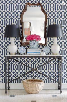 The Zhush: Style Stalking: Jessica Walmsley Interiors #Pattern #Decor