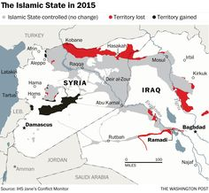 How the battle against the Islamic State is redrawing the map of the Middle East - The Washington Post
