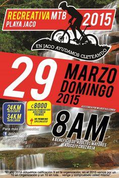 Recreativa MTB Playa Jacó 2015