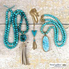 Sedona Jewelry Set – Druzy pendants are trending this Spring/Summer 2016.