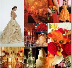 Fall theme wedding 2