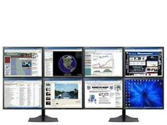 SUPER PC Eight LCD Multi-Monitor Display