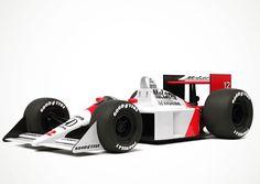 Ayrton Senna's MP4/4 TOONED style. #F1 #AyrtonSenna #McLarenHonda by mclaren