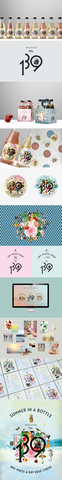 Bohemian and Exuberant Wolffer 139 Cider — The Dieline | Packaging & Branding Design & Innovation News