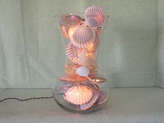 NANTUCKET SCALLOP SHELL Night Light  D by MaidenNantucket on Etsy, $85.00
