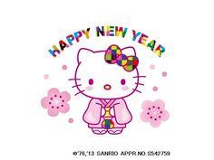 Happy New Year! #HelloKitty
