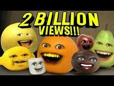 Annoying Orange - 2 BILLION VIEWS! THANK YOU! - http://www.viralvideopalace.com/realannoyingorange/annoying-orange-2-billion-views-thank-you/