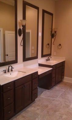 master bath vanity cabinet homecrest cabinetry jordan maple door bison ebony glaze master