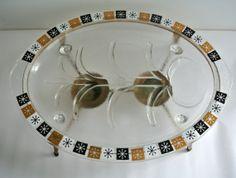 SALEMid Century/Eames Era  Inland Glass by LongTallSallys on Etsy, $20.00