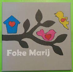 Made by Marieke: Naamschilderijtjes