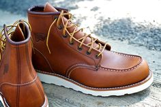 Awesome .. Red wing classic moc boots