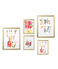 There's nothing like an always on-trend gallery wall to elevate a room. Add one (or two!) of these prints to your current array, or group a few of these to get started on a new art wall. It's all about making these pieces to fit your own home decor style.