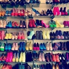 #shoes #toomanytocount #colours #pink #yellow #stripes #blue #usa
