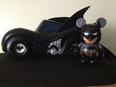 Custom Batmobile/Batman Vinylmation by Cesar Diaz!