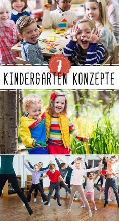 Kindergarten-Konzepte gibt es viele. Doch welches ist das Richtige für dein Kind? #Kindergarten Kindergarten Portfolio, Early Childhood Education, Kids And Parenting, Attachment Parenting, School, Theorie, Children, Baby Kids, Kids Discipline