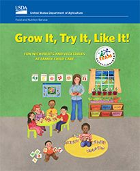 Great early childhood resources for introducing new fruits and vegetables, along with simple recipes. Nutrition Education, Kids Nutrition, Healthy Fruits And Vegetables, Family Child Care, Food Program, New Fruit, Vacation Bible School, Healthy Eating For Kids