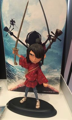 Kubo and the Two Strings Figure + BONUS 3 Pin Set LAIKA Universal Figurine L/E • CAD 386.54 - PicClick CA