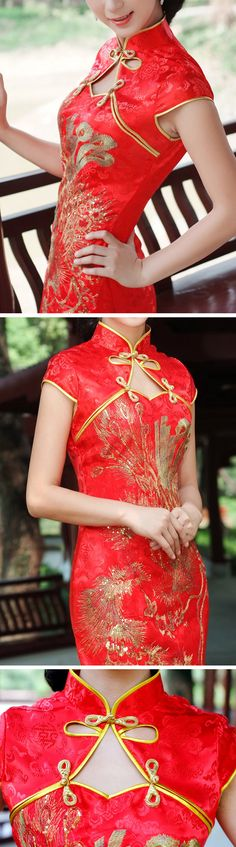 Chinese Cheongsam Wedding Dress