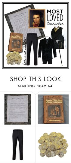 """""""The Count of Monte Cristo"""" by tinky3buggs ❤ liked on Polyvore featuring Ted Baker, men's fashion, menswear and MostLovedCharacter"""