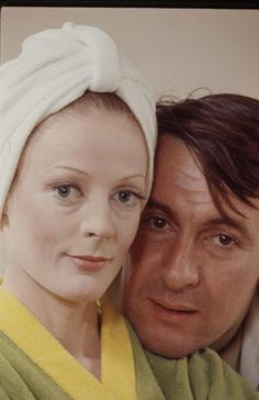 Maggie Smith & Robert Stephens