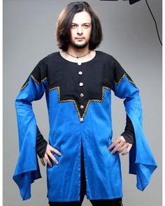 Great neckline yoke, very interesting shape. Tunic or shirt is meh