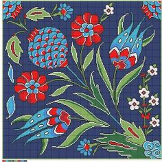 """Filiz Türkocağı, Author of """"Embroidery in Iznik pottery style (Turkey)"""""""