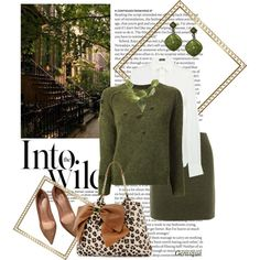 """""""Top Set 10/29/14: The Wild is Work..."""" by gemique on Polyvore"""